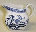 Enoch Wedgwood England BLUE ONION CREAMER
