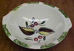 Blue Ridge WILD CHERRY 3 7 Inch TAB HANDLED SOUP BOWL