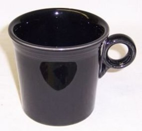 Homer Laughlin Black FIESTA Tom and Jerry MUG