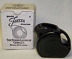 Homer Laughlin Black FIESTA Miniature DISK PITCHER, OB