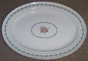 Hall China MOUNT VERNON 13 1/2 Inch OVAL PLATTER