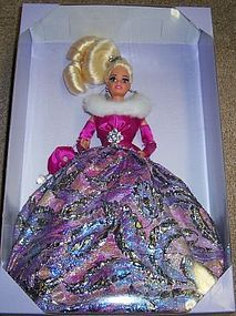 1995 Mattel White STARLIGHT WALTZ BARBIE Doll Lt Ed,MIB