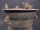Vietnamese bronze Dong Son drum