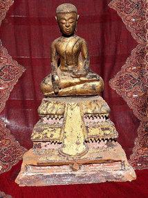 Buddha - Ayutthaya - wood