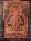 Tibetan thangka Buddha Amitayus