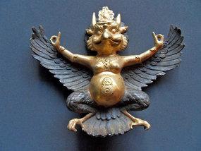 Bronze Garuda statue - Indonesia