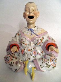 Meissen porcelain nodder statue
