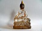 Rock crystal or quartz Buddha - Cambodia