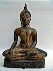 Bronze Thai Buddha