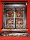 Chinese wooden house altar or shrine