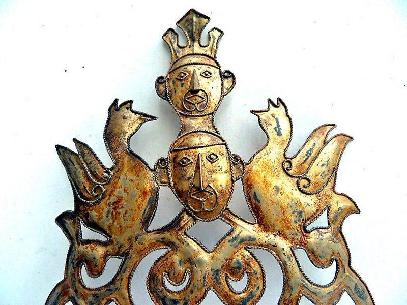 Traditional Maluku head ornament