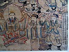 Scroll painting of the 9 Emperor Gods or Heavenly Kings