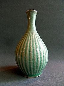 Small Korean celadon vase