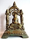 Jain bronze Parsvanatha statue - South India