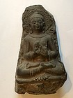 Stone carving figure of Gautama Buddha