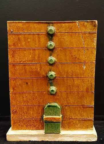 Chinese pottery chest - Ming dynasty