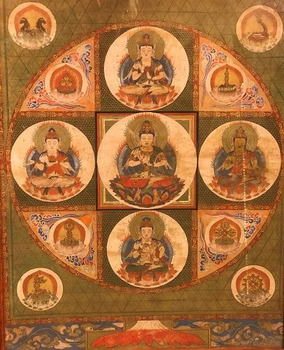 Diamond World Mandala or Mandara - Vajradhatu