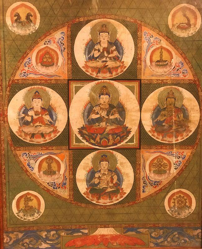 Diamond World Mandala or Mandara - Vajradhatu