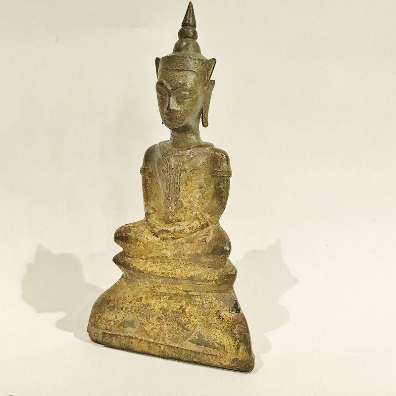 Bronze Thai Buddha from the 17th. century