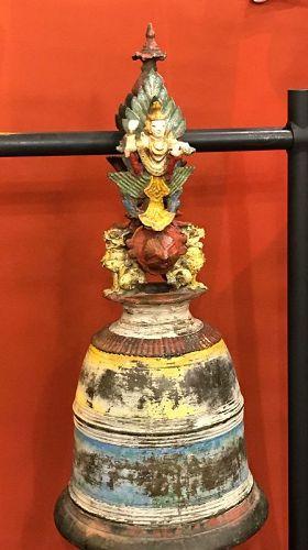 Bronze Burmese temple bell