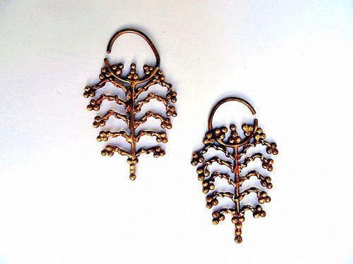Traditional Maluku earrings