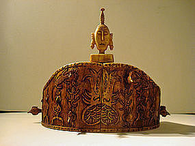Ritual crown from the Moluccas, Indonesia