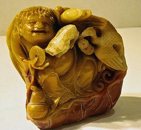 Shoushan stone Liuhai