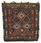 Antique Shahsavan Sumakh Bag, Persia.