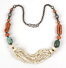 Old Himalayan Woman Tribal Necklace.