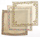 Lot of three Ottoman Empire Embroidered Covers.