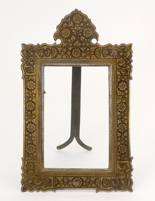 Indo Persian Steel Photo Frame in Koftgari Style, # 2