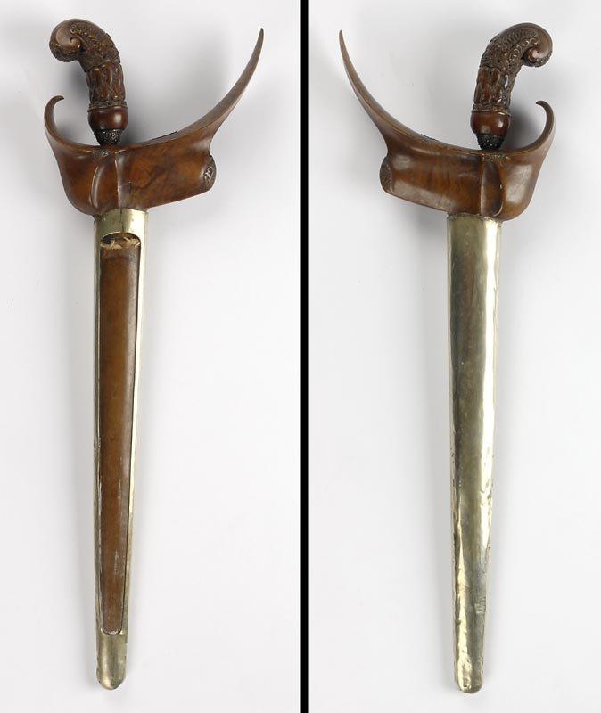 Antique Indonesian Keris Dagger from Madura, #1.