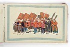 Chinese Pith Paper Painting Album with Procession Scenes, 19th C.