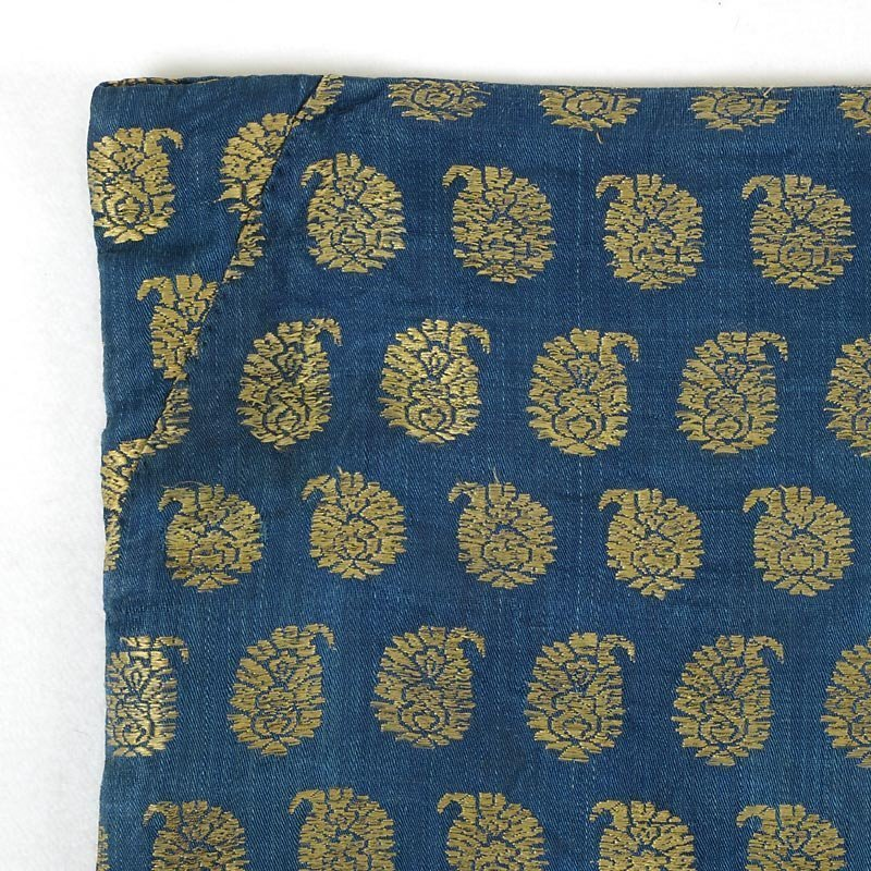 Persian Silk Brocade Textile Cover with Boteh, 18th/19th C.