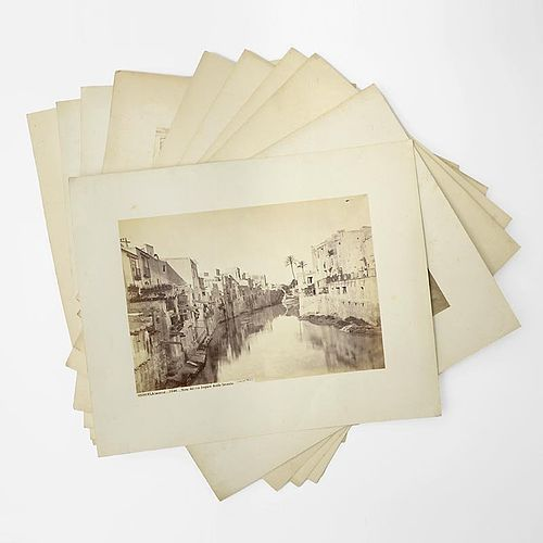 Ten Large Albumen Photographs of Spain by J. Laurent, 1870/80.