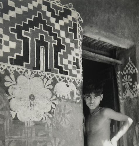 "23 Vintage Photographs ""Folk Art in Orissa, India"" by Dorothy Norman"