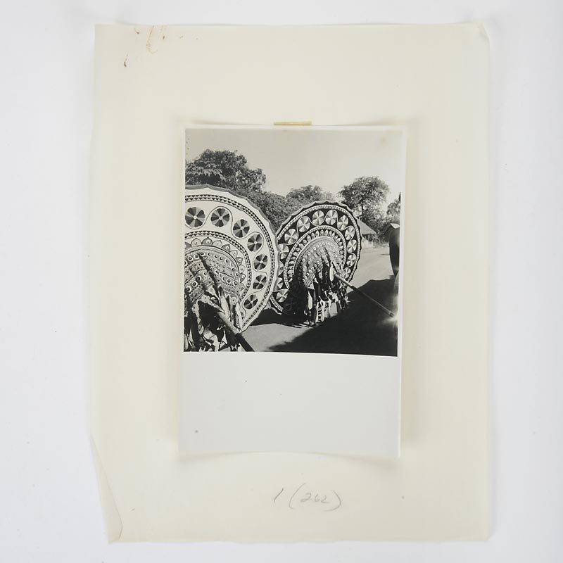 "23 Vintage Photographs ""Folk Art in Orissa, India"" by Dorothy Norman"