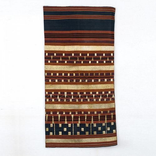 Indonesian Ceremonial Tapis Sarong Skirt, Sumatra, Early 20th C.