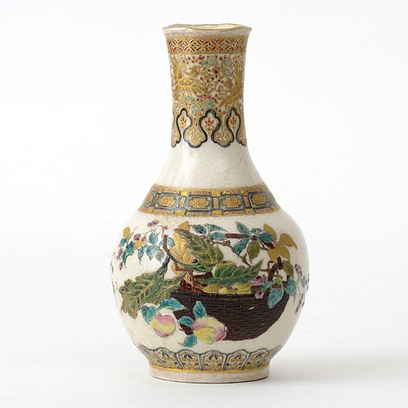 Early & Fine Small Japanese Satsuma-Style Vase, 19th C.
