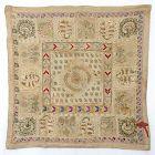 Ottoman Empire Composite Embroidery Cover Panel, 19th C.