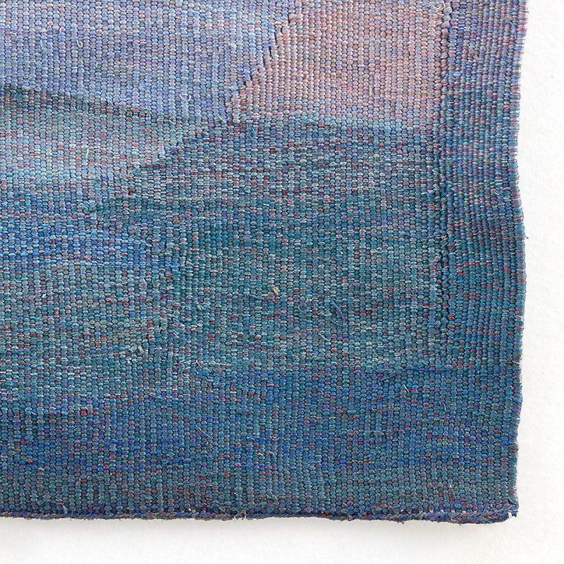 Rare Large Anthroposophical Wool Tapestry by Elsa Poehn, 1981.