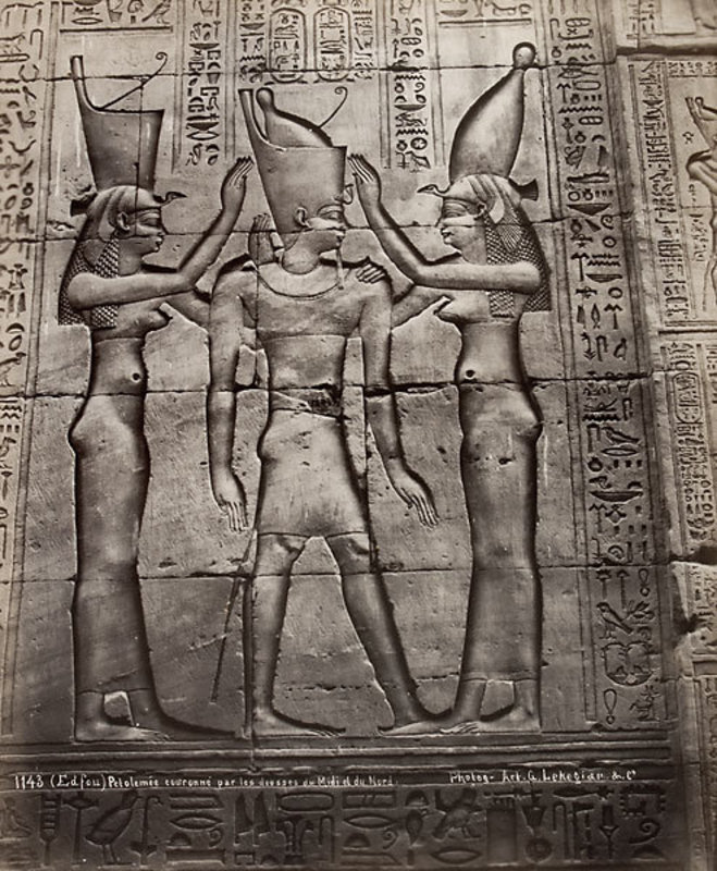 Album with views of Ancient Egypt, Photographs 50 to 61