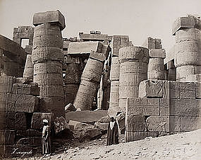 Album with views of Ancient Egypt, Photographs 38 to 49