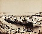 Early Albumen Photograph: Egypt  Philae, c. 1875.