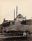 The Mosque of Muhammad Ali in Cairo, before 1880.