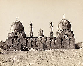 Early Photograph of Cemetery in Cairo, before 1880.