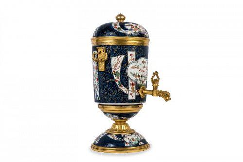 Chinese porcelain Imari perfume fountain mounted