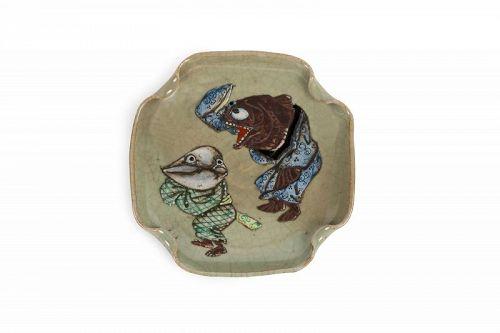 Japanese yokai plate