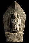 Stone Senju (Thousand-Armed) Kannon Bosatsu Edo 18/19 c