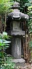 Stone Lantern Ishi-Doro Buddha Tea Garden Edo 17 c.